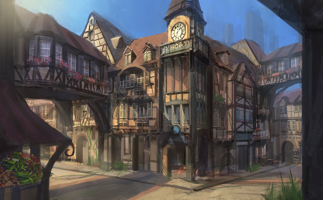 The Golden Goose Trading Guild Headquarters